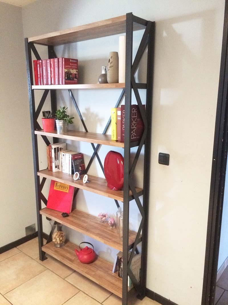 escalier métal rouge, Sublimétal