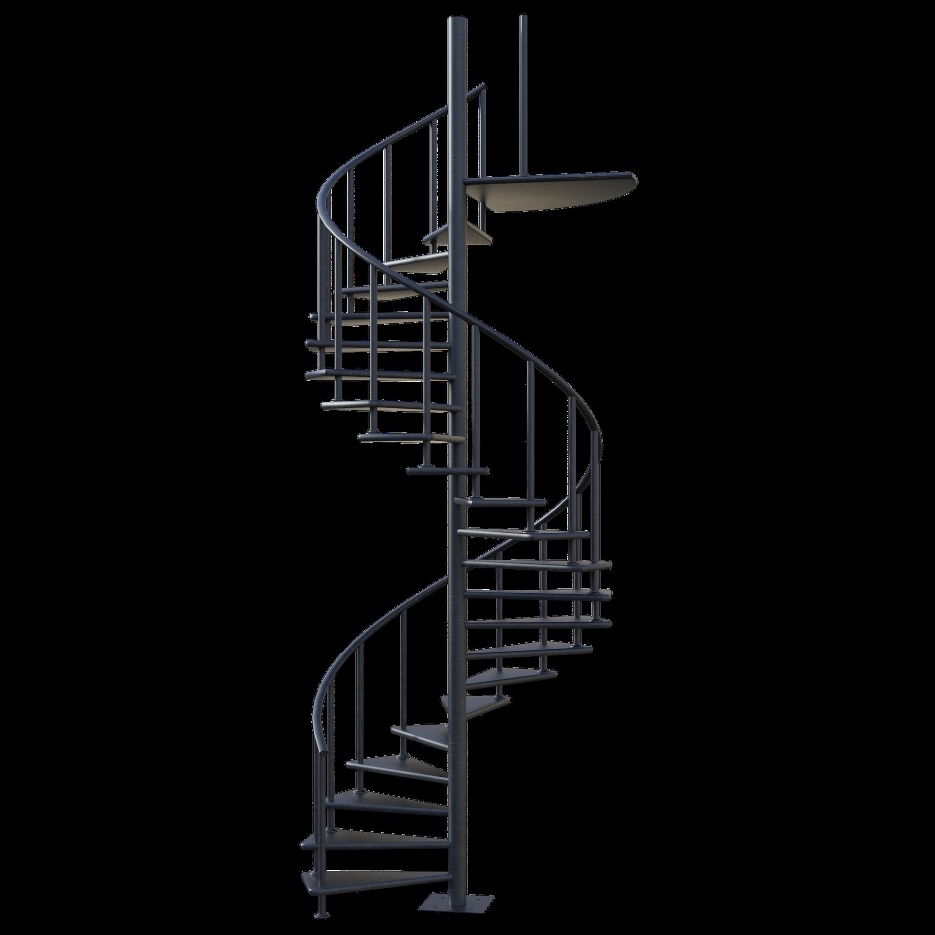 escalier spirale Sublimétal, ferronnier et métallier Toulouse
