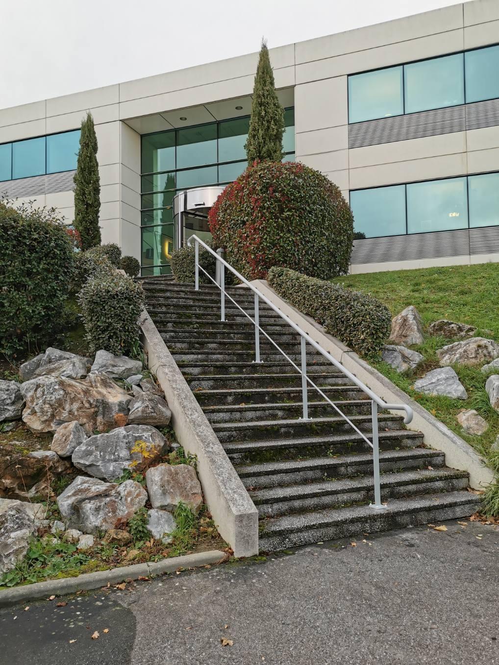 rampe d'escalier, main courante Sublimétal